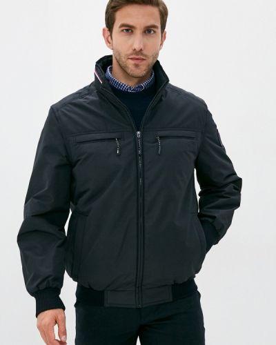Черная утепленная куртка Vizani