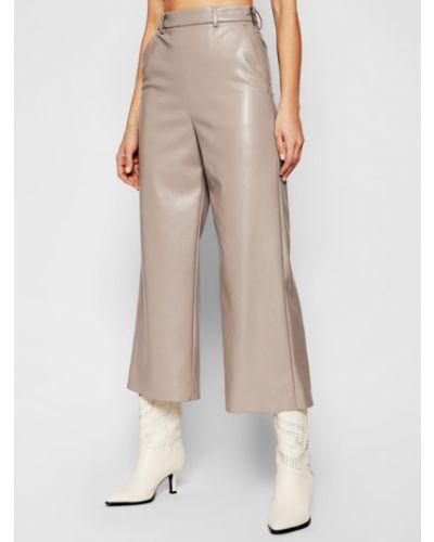 Szare spodnie Msgm