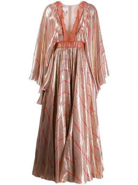 Платье с декольте кимоно Giambattista Valli