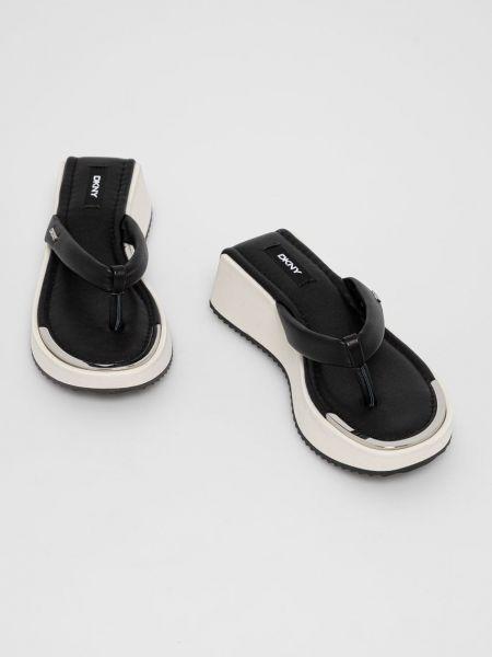 Кожаные сандалии Dkny