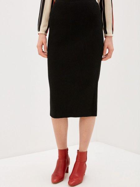 Черное облегающее платье Milanika