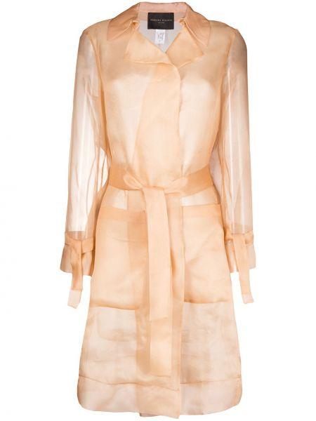 Пальто классическое розовое пальто Fabiana Filippi