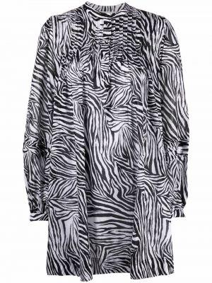 Платье макси с длинными рукавами - белое Michael Kors