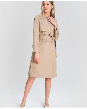 Пальто классическое с принтом пальто Ostin