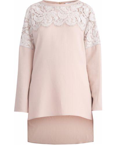 Кружевная блузка - бежевая Agnona