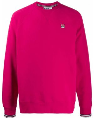 Толстовка розовый свободного кроя Fila