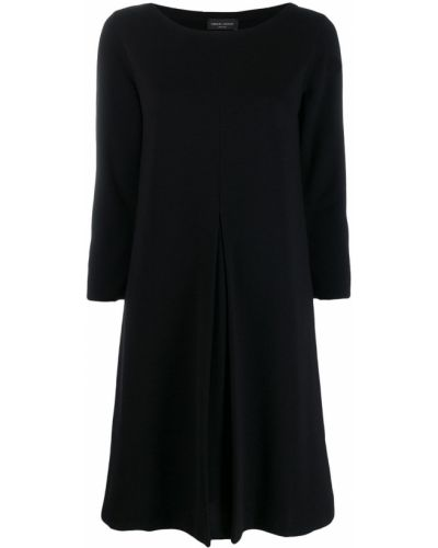 Платье со складками с вырезом Roberto Collina