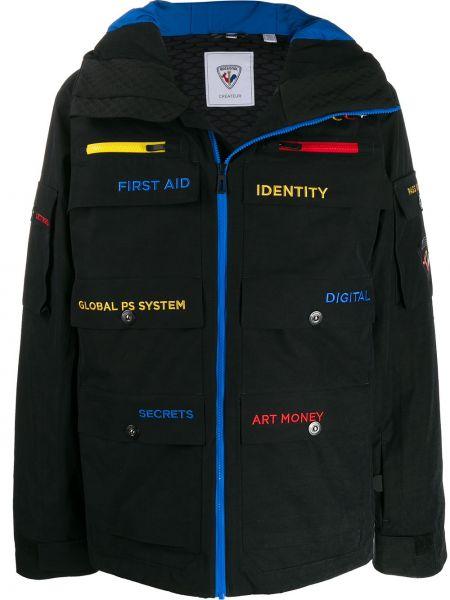 Куртка с капюшоном - черная Rossignol