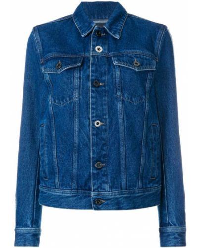 Синяя джинсовая куртка Diesel Black Gold