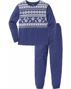 Пижама синий Bonprix