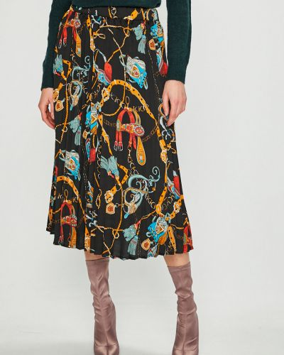 Плиссированная юбка макси карандаш Vila