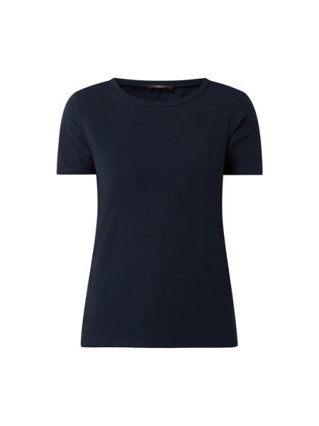 Niebieski t-shirt bawełniany Weekend Max Mara