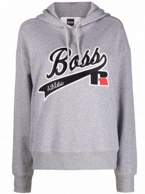 Пуловер длинный - серый Boss Hugo Boss