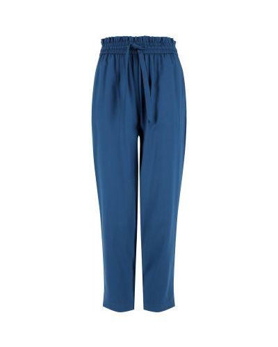 Свободные синие брюки свободного кроя Protest