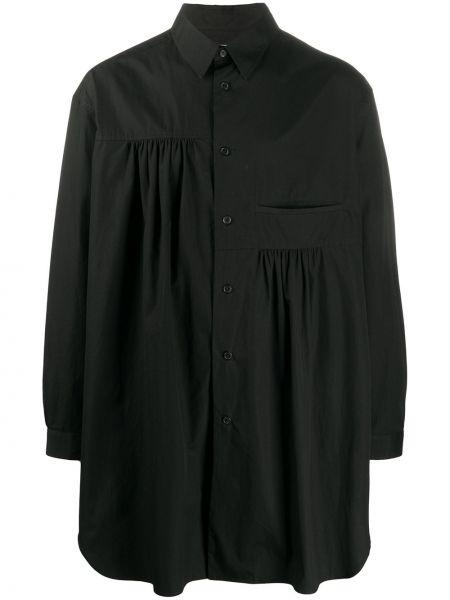 Koszula z długim rękawem klasyczna prosto Yohji Yamamoto