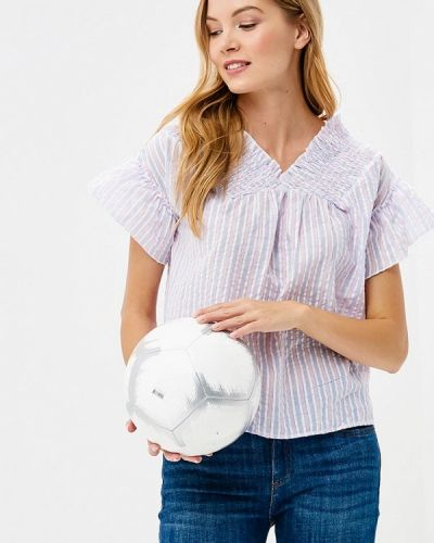 Фиолетовая блузка осенняя Care Of You
