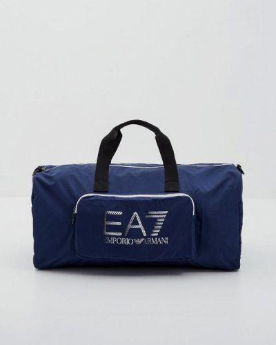 Спортивная сумка синий Ea7