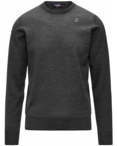 Szary sweter K-way