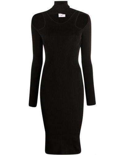Czarna sukienka Coperni