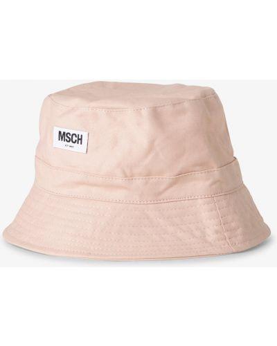 Różowa kapelusz Moss Copenhagen
