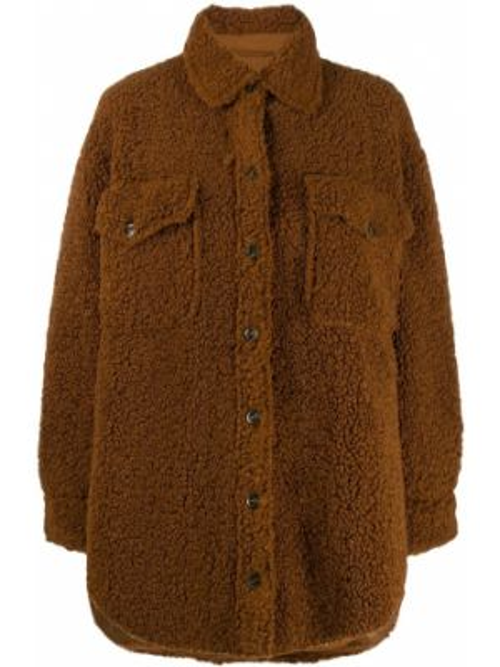 Куртка оверсайз - коричневая Jovonna