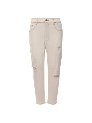 Укороченные джинсы - белые Iceberg