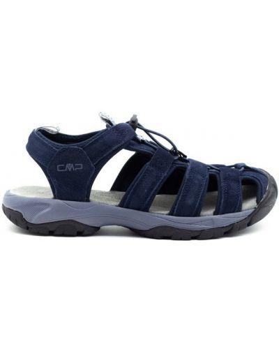 Кожаные сандалии - синие Cmp