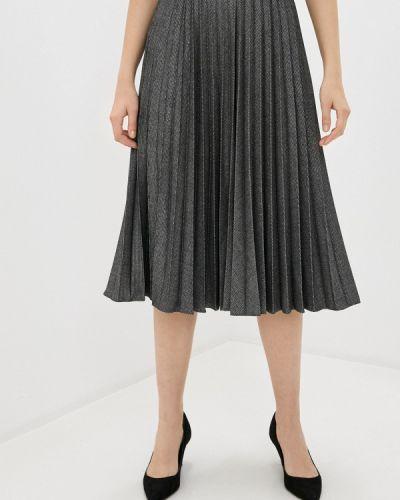 Серая плиссированная юбка Lusio