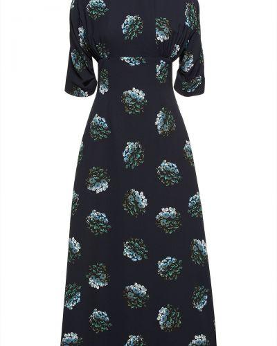 Платье с принтом Emilia Wickstead