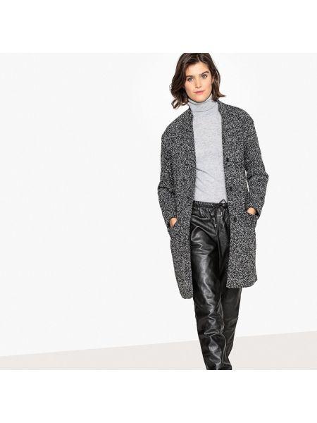 Пальто серое на кнопках La Redoute Collections