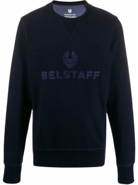 Bluza na szyi z logo Belstaff