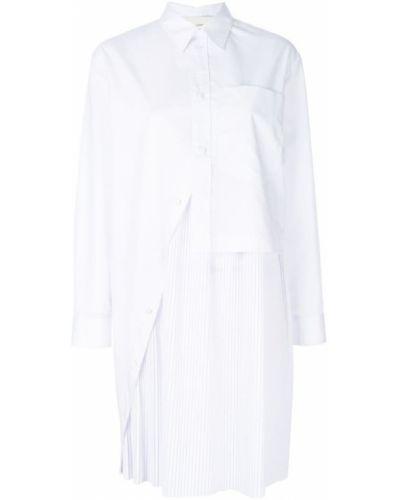 Белое платье рубашка Cédric Charlier