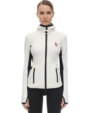 Куртка с капюшоном на пуговицах на молнии Moncler Grenoble