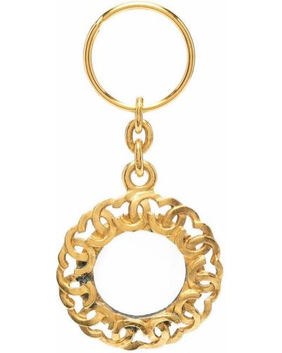 Brelok złoto metal Chanel Pre-owned