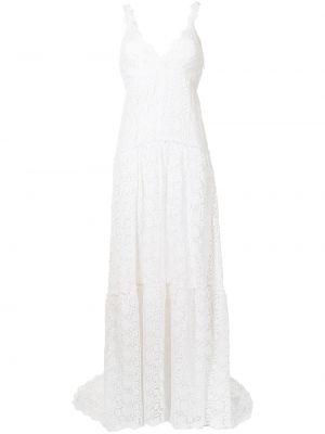 Кружевное платье - белое Loveshackfancy