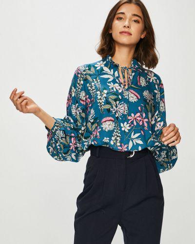 Блузка с длинным рукавом винтажная из вискозы Medicine