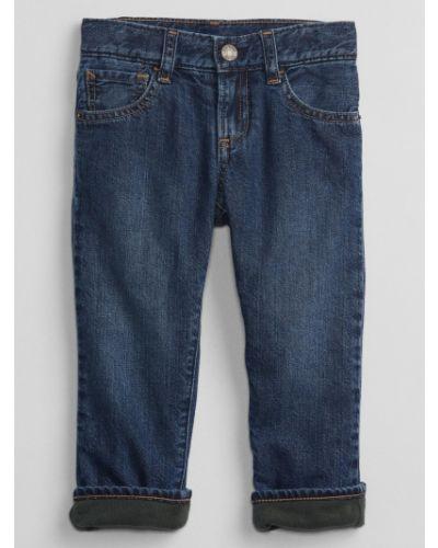 Mom jeans bawełniane Gap