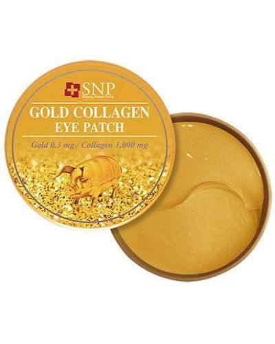 Патчи для глаз с золотом коллагеновые Snp
