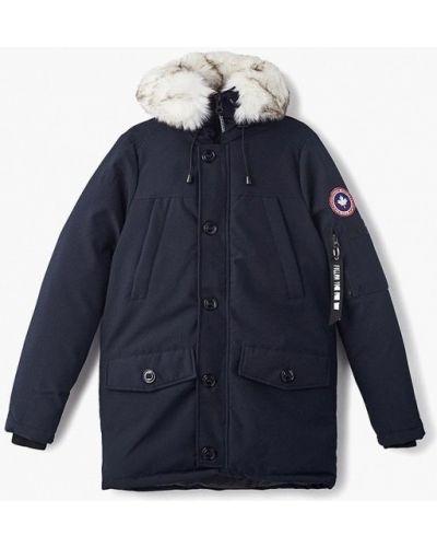 Зимняя куртка осенняя синяя Paragoose