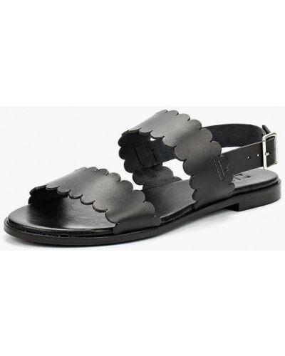 Черные сандалии испанские Zign