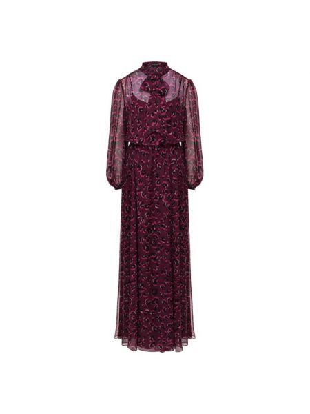 Платье мини леопардовое вязаное Escada