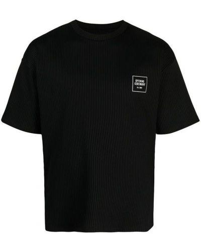 Czarna t-shirt Opening Ceremony