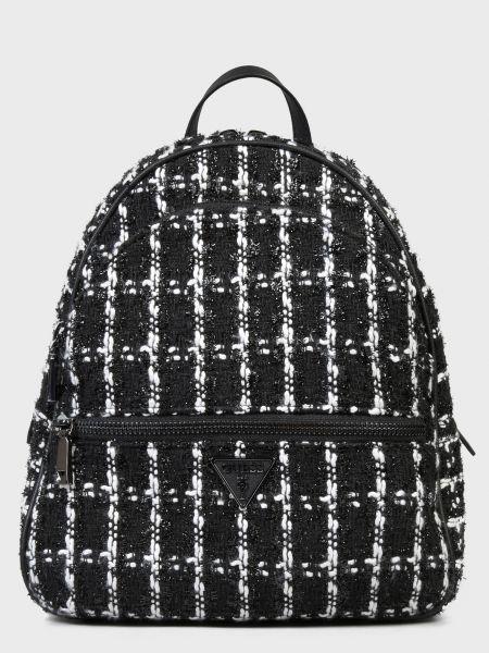 Текстильный рюкзак - черный Guess