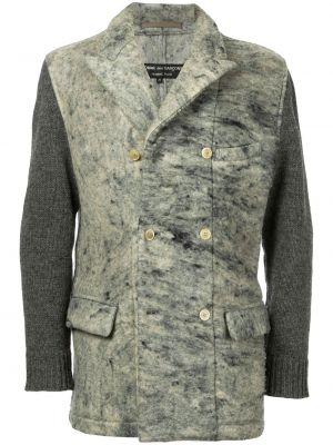 Серый пиджак винтажный с воротником на пуговицах Comme Des Garçons Pre-owned