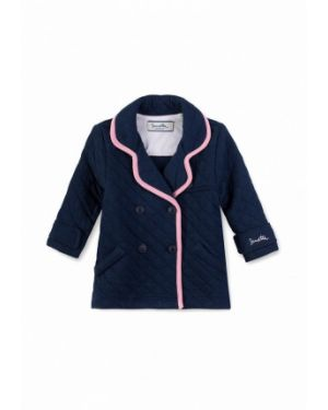 Пиджак синий костюмный Sanetta