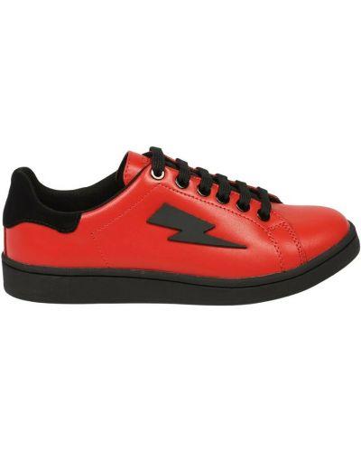 Sneakersy - czerwone Neil Barrett
