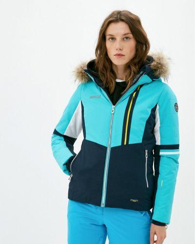 Бирюзовая куртка горнолыжная High Experience