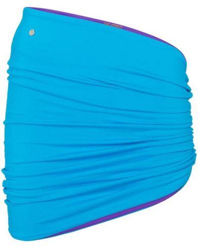 Niebieska spódnica na plażę The Attico