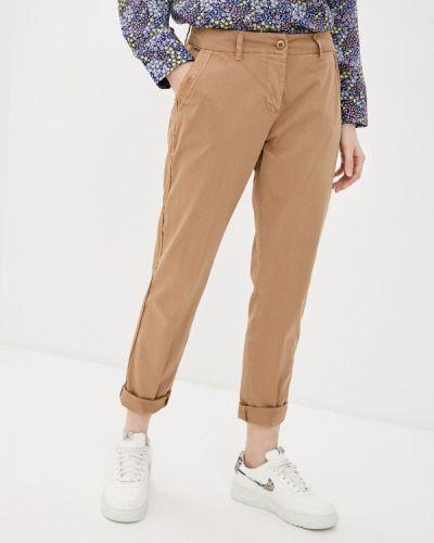 Повседневные коричневые брюки Tantra