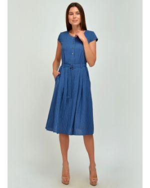 Платье в полоску Viserdi